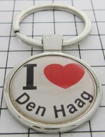 SLE_ZH3.001 Sleutelhanger I love Den Haag