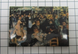 10 stuks koelkastmagneet Auguste Renoir MAC:20.354
