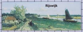 10 stuks koelkastmagneet Rijswijk  P_ZH11.0001