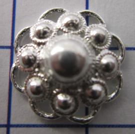 ZB203-Z Zeeuwse Knop echt Zilver
