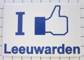 10 stuks koelkastmagneet I like Leeuwarden N_FR2.001
