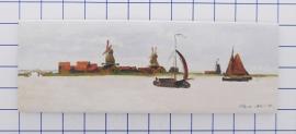 10 stuks koelkastmagneet Claude Monet Zaandam MAC:21.450