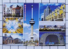 10 stuks koelkastmagneet Rotterdam MAC:N_ZH1.028