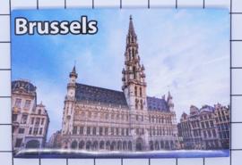 koelkastmagneet Brussels N_BX021