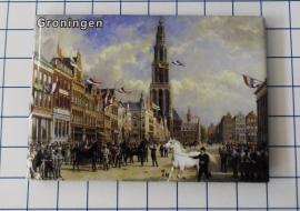 10 stuks koelkastmagneet  Groningen MAC:N_GR1.005