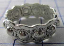 ZKR003-Z Zeeuwse Knop echt Zilver