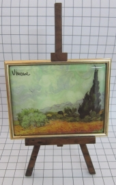 SCH006 schildersezel 16 cm hoog Vincent van Gogh