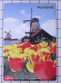 10 stuks koelkastmagneet molen tulpen Holland  MAC:20.283
