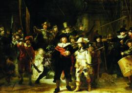 10 stuks poster op karton Nachtwacht Rembrandt POS-0038 posters(20.8Cm / 29.5Cm)