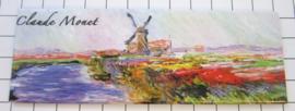 10 stuks koelkastmagneet Claude Monet molen MAC:21.221