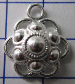 ZB202-Z Zeeuwse Knop echt Zilver
