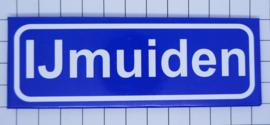 10 stuks koelkastmagneet  plaatsnaambord IJmuiden N_NH12.0001