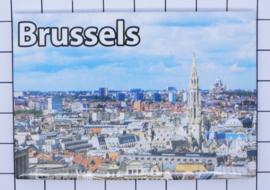 koelkastmagneet Brussels N_BX016