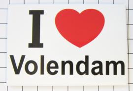 10 stuks koelkastmagneet I love Volendam holland N_NH4.007