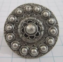 ZKR313 Grote Zeeuwse knop ring 4 cm doorsnede