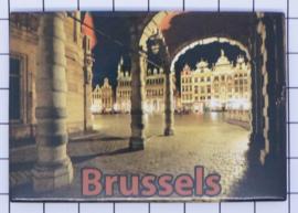koelkastmagneet Brussels N_BX007