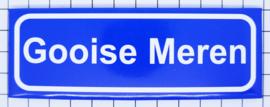 10 stuks koelkastmagneet plaatsnaambord Gooise Meren P_NH18.0001