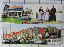 10 stuks koelkastmagneet  Volendam  N_NH4.018