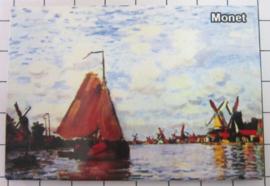 10 stuks koelkastmagneet Monet 20.270