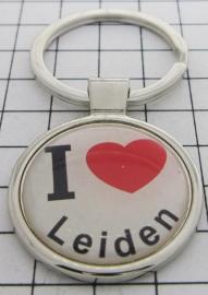 SLE_ZH6.001 Sleutelhanger I love Leiden