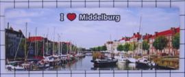 10 stuks koelkastmagneet Middelburg Zeeland P_ZE2.0003