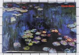 10 stuks koelkastmagneet Claude Monet 20.455
