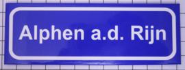 10 stuks koelkastmagneet  Alphen a.d.Rijn  P_ZH12.0001