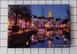 10 stuks koelkastmagneet  Groningen N_GR1.006