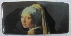 Haarspeld rechthoek meisje parel van Johannes Vermeer HAR 202