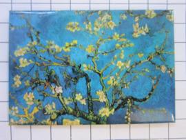 10 stuks koelkastmagneet Vincent van Gogh amandelbloesem Holland MAC:20.420