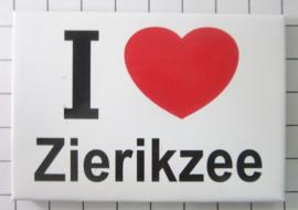 10 stuks koelkastmagneet I love Zierikzee Zeeland N_ZE6.001