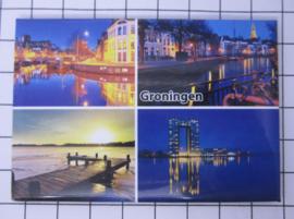 10 stuks koelkastmagneet  provincie Groningen N_GR1.010