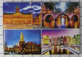 10 stuks koelkastmagneet Amsterdam 19.043