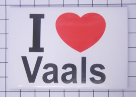 10 stuks koelkastmagneet I love  Vaals N_LI11.001