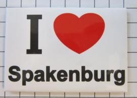 10 stuks koelkastmagneet I love Spakenburg  N_UT3.001