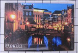 10 stuks koelkastmagneet  Utrecht  N_UT1.037