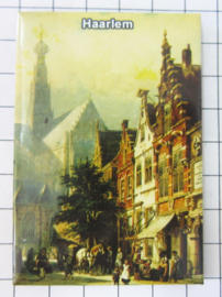10 stuks koelkastmagneet  Haarlem N_NH5.006
