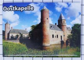 10 stuks koelkastmagneet Zeeland Oostkapelle N_ZE7.502