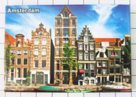 10 stuks koelkastmagneet Amsterdam  MAC:19.019