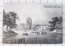 10 stuks koelkastmagneet Leeuwarden N_FR2.004