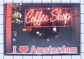 10 stuks koelkastmagneet Amsterdam  coffeeshop 18.960
