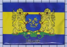 10 stuks koelkastmagneet Rijswijk N_ZH11.002