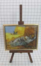 SCH007 schildersezel 16 cm van gogh