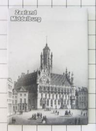 10 stuks koelkastmagneet Zeeland  Middelburg N_ZE2.004