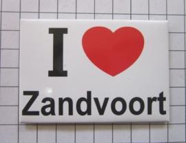 10 stuks koelkastmagneet I love Zandvoort N_NH8.501