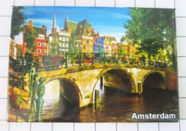 10 stuks koelkastmagneet Amsterdam  MAC:19.016