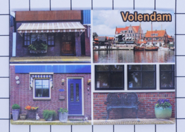 10 stuks koelkastmagneet  Volendam N_NH4.028