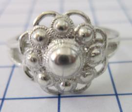 ZKR010-Z Zeeuwse Knop echt Zilver