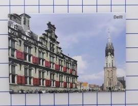 10 stuks koelkastmagneet Delft  N_ZH5.002