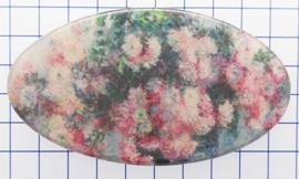 HAO 323 roze bloemen Monet